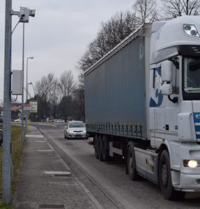 Over height vehicle detection system